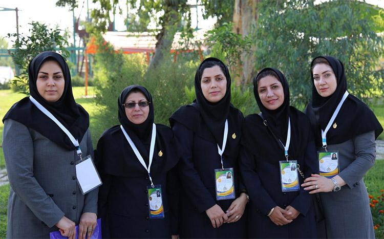 درخشش تیم کاروان بانوان دانشگاه علوم پزشکی بابل در المپیاد ورزشی کشور